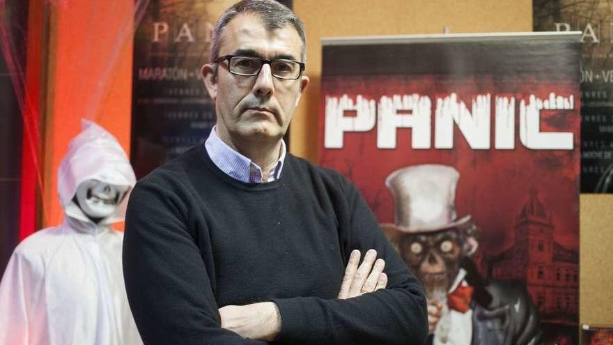 """Pedro Pérez: """"La gente ya empieza a ver que se lo pasa muy bien viendo películas de miedo"""""""