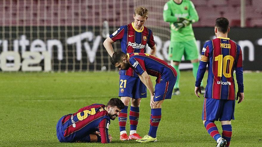 El Barcelona vuelve a quedarse sin Piqué