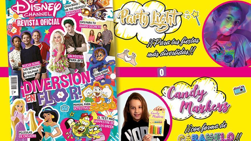 Nueva Disney Channel - Revista Oficial, ya a la venta