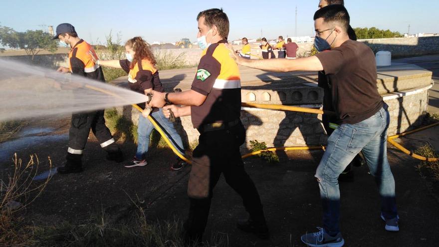 La Diputación forma a los voluntarios de Protección Civil