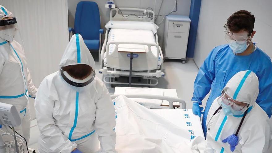 CCOO recurre los traslados forzosos al hospital Zendal