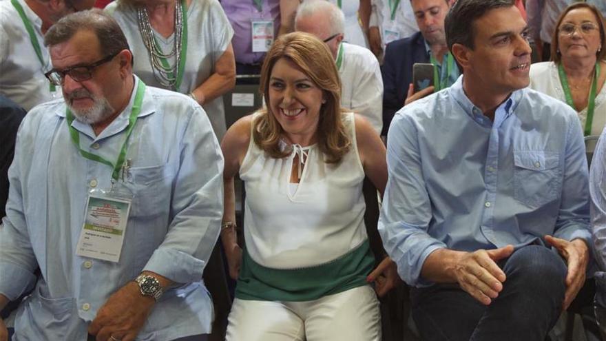 La nueva Ejecutiva de Susana Díaz consigue un apoyo del 91,1 por ciento