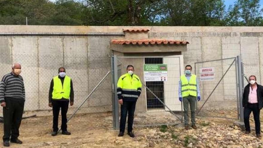 Nuevo depósito de abastecimiento de agua en Palazuelo de las Cuevas