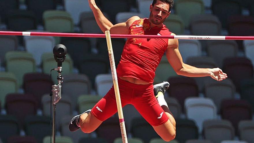 Ureña roza el diploma olímpico