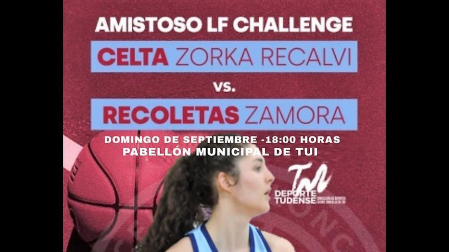 El Recoletas Zamora medirá fuerzas con el Celta este domingo a partir de las 18.30 horas en Tui