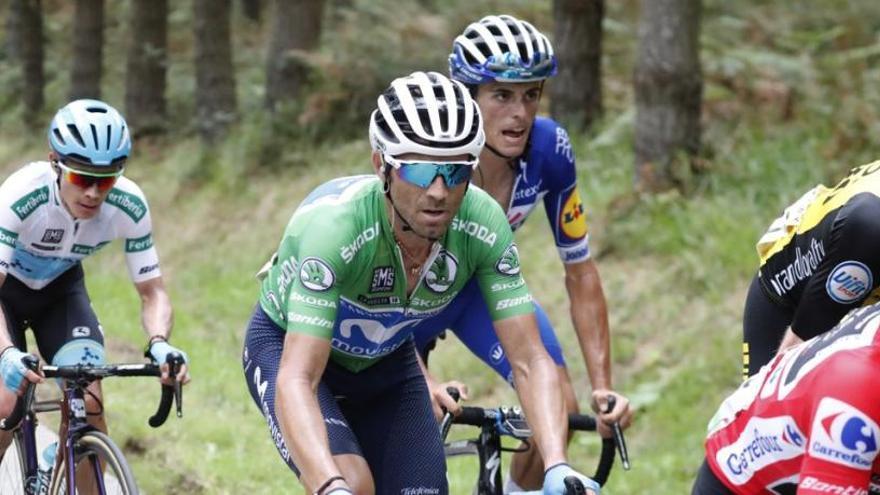 Valverde no se da por vencido pese a ceder tiempo en La Rabassa