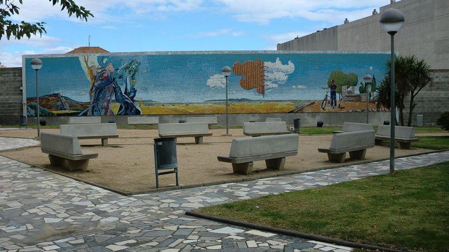 El mural del Grup 69 de Figueres s'ha de canviar a un altre lloc