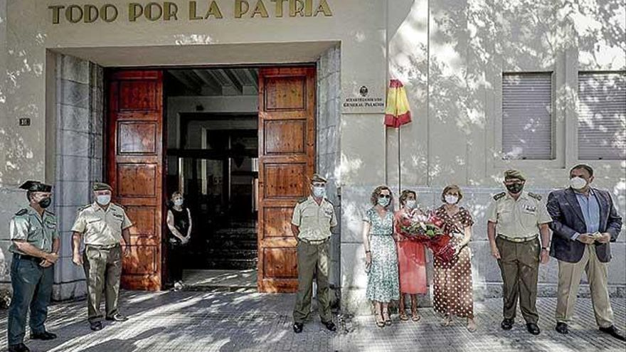 Bautizan el cuartel de las Avenidas como General Palacios