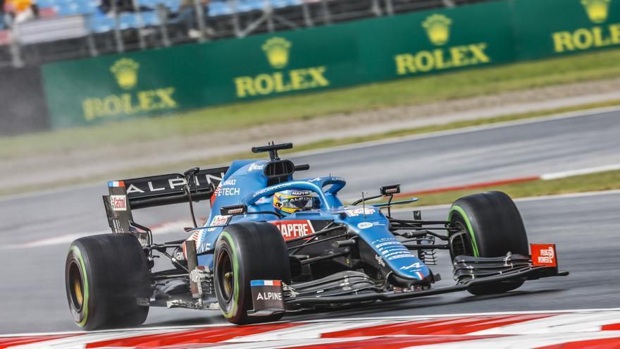 """Alonso: """"Ha sido el mejor sábado del año, todo a pedir de boca"""""""