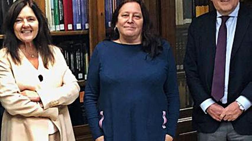 Pilar López-Guerrero, presidenta del Consello da Avogacía Galega