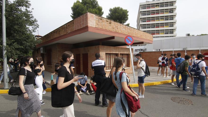 Comienzan los exámenes de la Selectividad en Córdoba