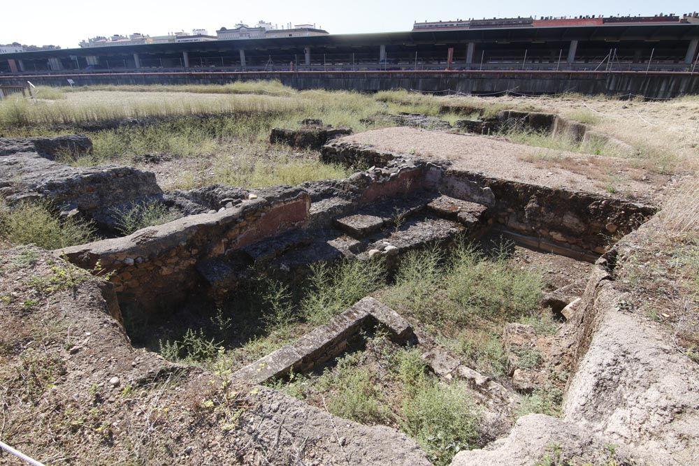 Urbanismo y Sadeco inician la limpieza del yacimiento de Cercadilla