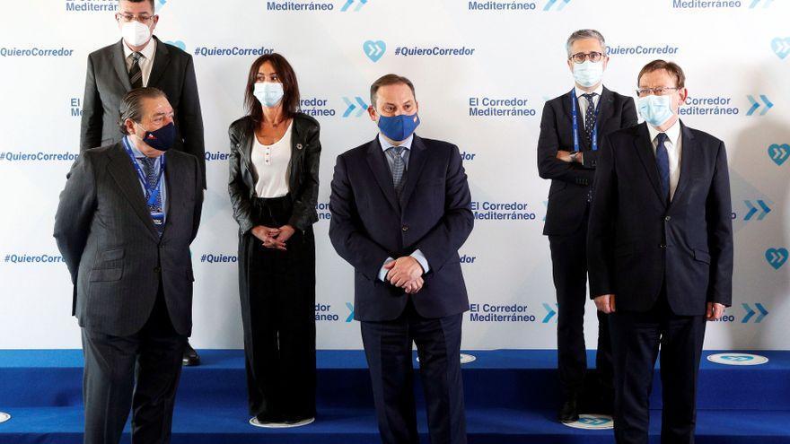 """El movimiento #Quierocorredor pide al Gobierno que """"se ponga las pilas"""" en el eje mediterráneo"""