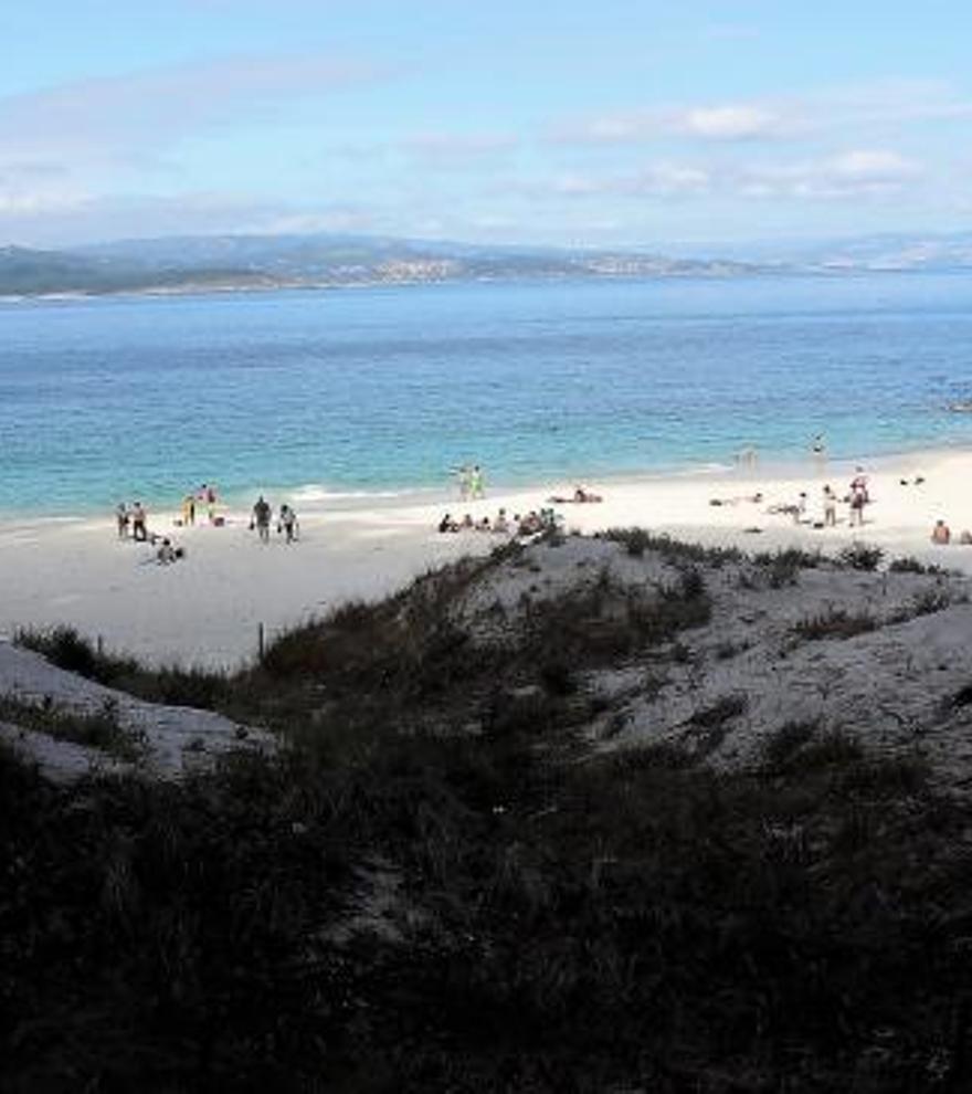 Figueiras, el paraíso nudista en las Islas Cíes