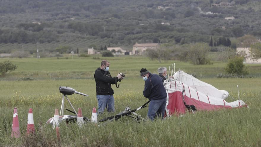 Muere un hombre de 53 años al estrellarse con un ultraligero en Vilafranca