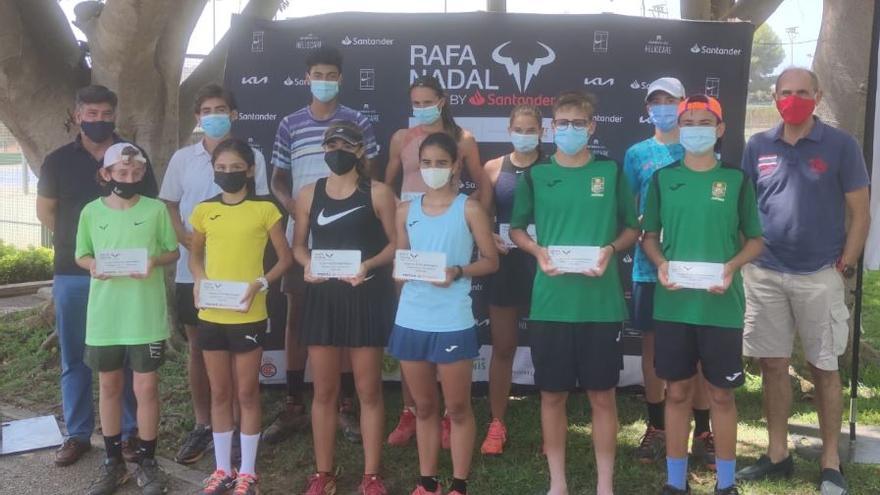 Montemar reúne a más de 500 tenistas en el Rafa Nadal Tour