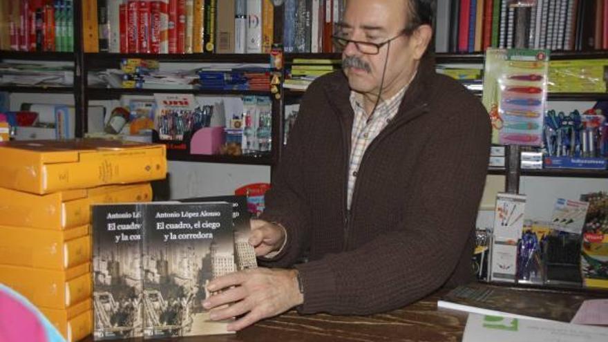 Antonio López presenta en Madrid su obra  «El cuadro, el ciego y la corredora»