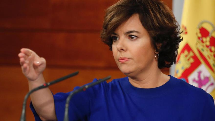 Soraya Sáenz de Santamaría será consejera de Estado