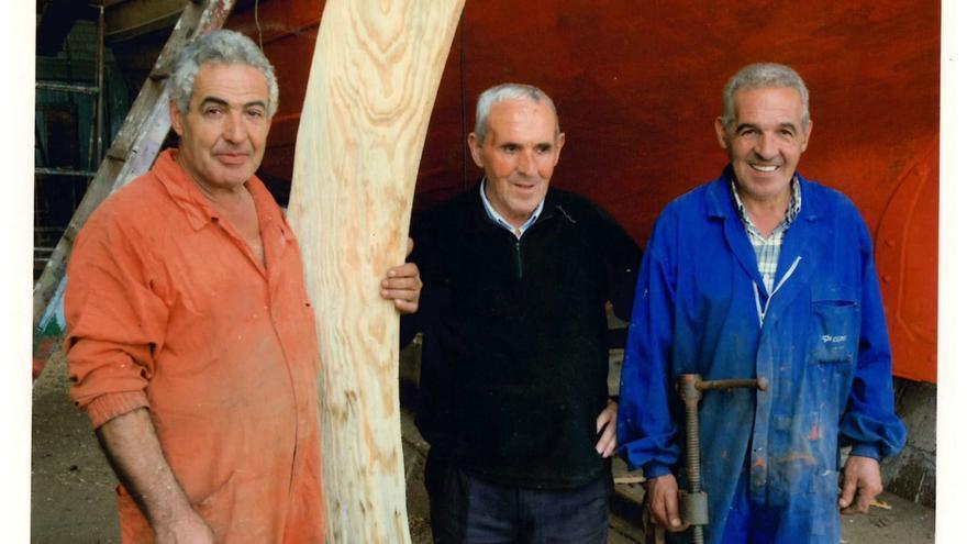 La carpintería de ribera queda huérfana