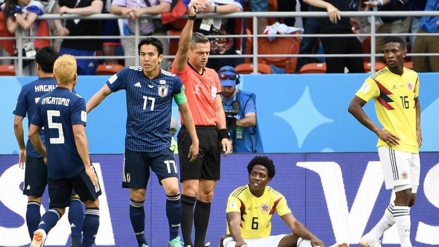 'La Roca' Sánchez, segundo jugador en ver la roja más tempranera en un Mundial