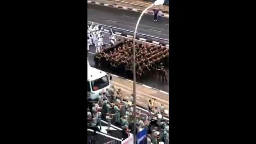 La Guardia Civil al ritmo de 'Paquito el Chocolatero'
