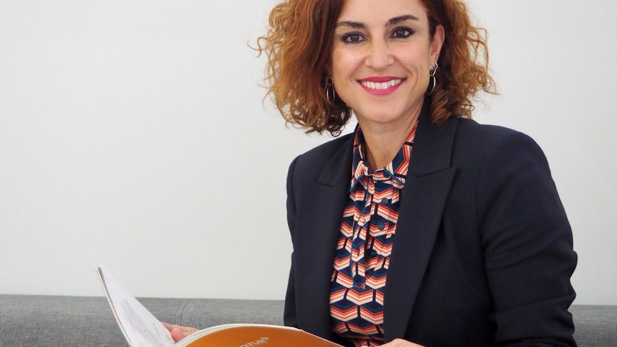 La directora del área de Restauración de Grupo Intur, María Pascual, está orgullosa del trabajo de la compañía.