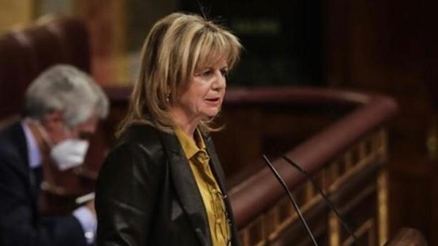 La diputada del PP por Zamora, Elvira Velasco.