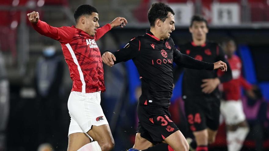 La Real Sociedad saca un punto del AZ Alkmaar