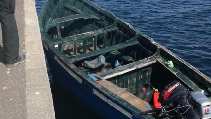 Rescatan una patera con 25 migrantes en aguas cercanas a Gran Canaria