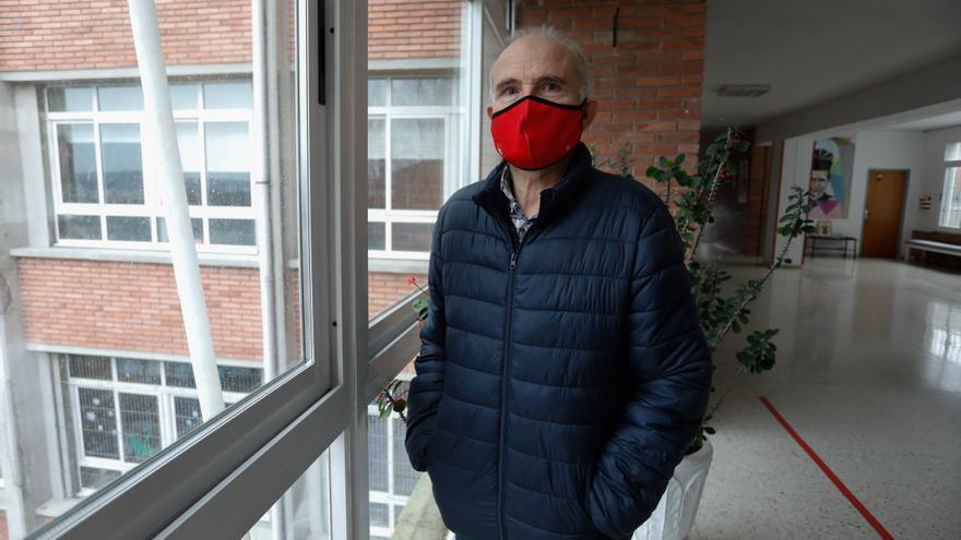 """Ricardo Herrero, director del Santo Ángel: """"Mantenerse separados es duro para una comunidad educativa cercana"""""""