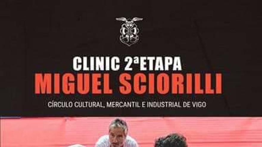 Nuevo clinic de Miguel Sciorilli en Vigo