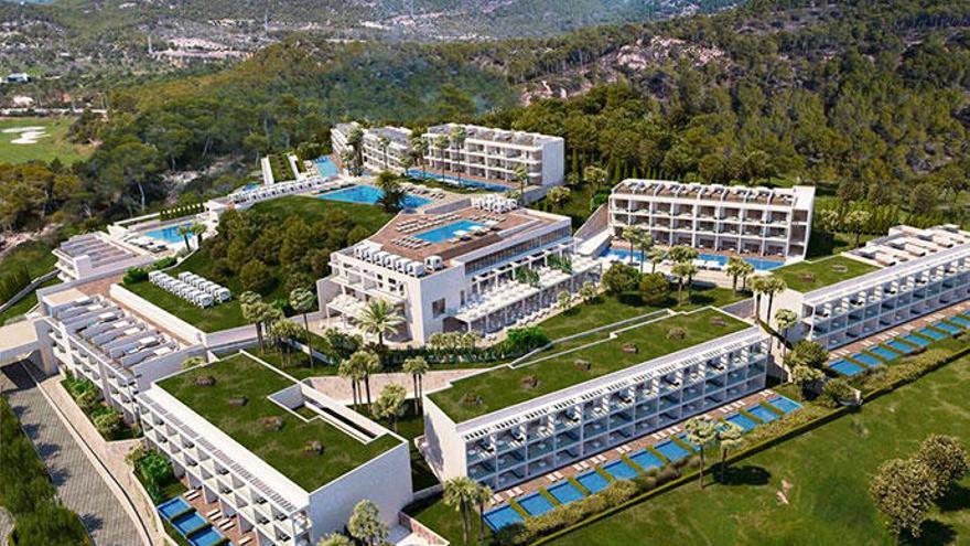 Scharfe Kritik am Luxusresort in Camp de Mar
