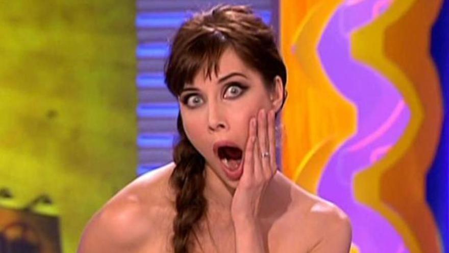 La sorprendente imagen de Pilar Rubio persiguiendo a Victoria Beckham en 'SLQH'