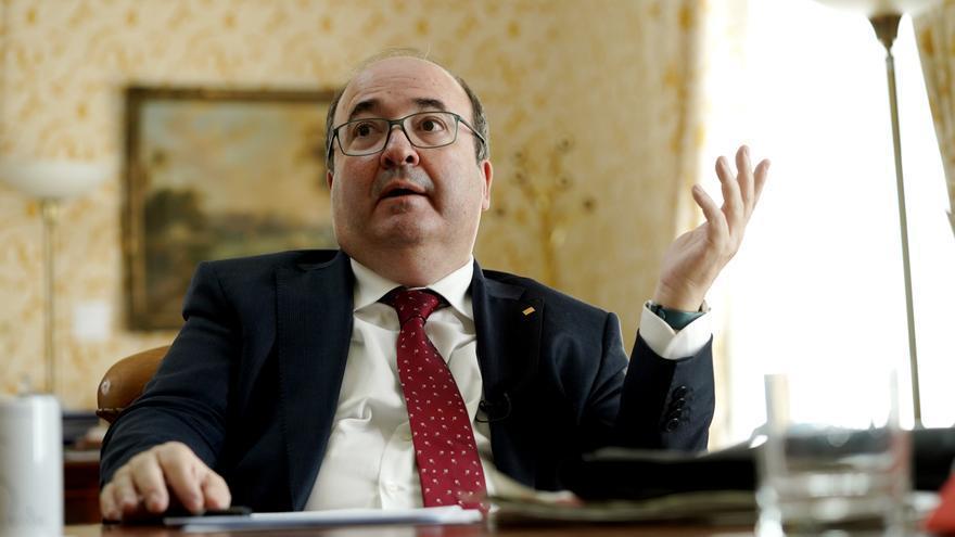 """Miquel Iceta: """"Los indultos no son borrón y cuenta nueva, pero permiten avanzar en el diálogo"""""""