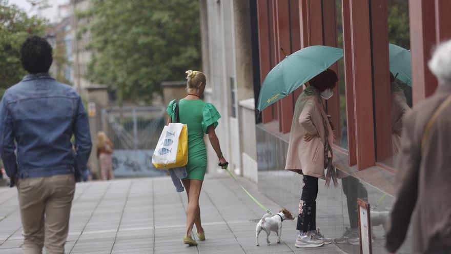 El paraguas, un básico de verano en Asturias