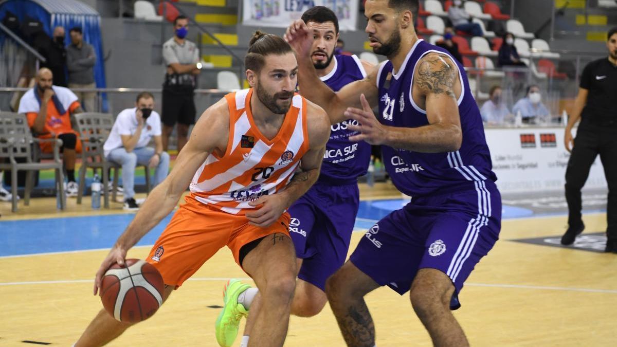 Osvaldas Matulionis, en el partido contra el Valladolid.