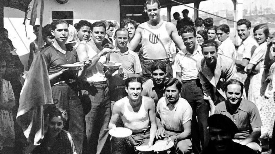 Wie 600 Sportler von Mallorca 1936 zu Olympischen Spielen reisten, die nie stattfinden sollten