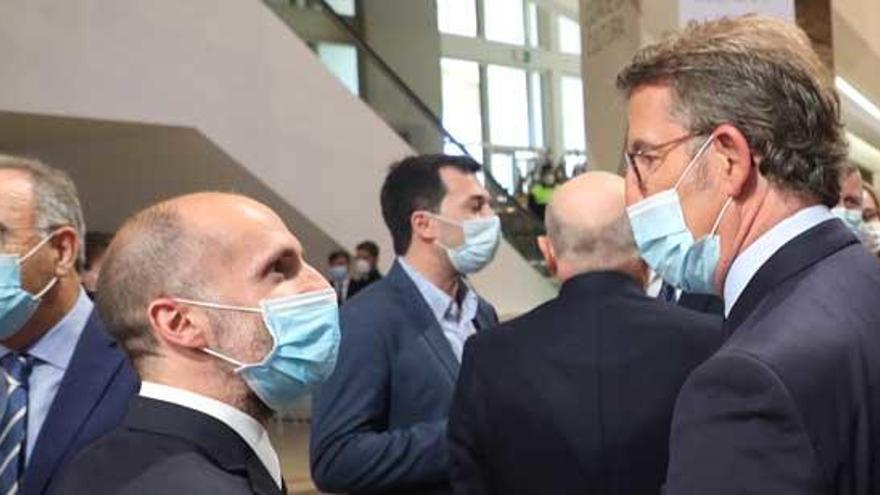 """Feijóo: """"El problema fundamental de Ourense en este momento es el sanitario"""""""