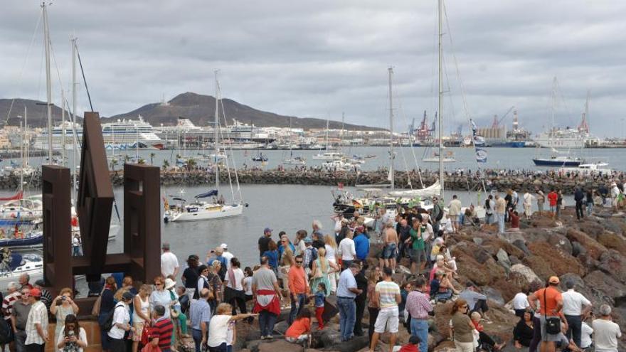 El Muelle Deportivo tendrá una pasarela para observar  las regatas