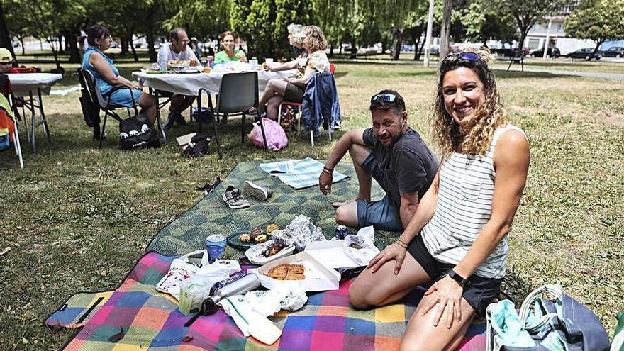 Fiesta en Nuevo Gijón y ofrenda en Ceares