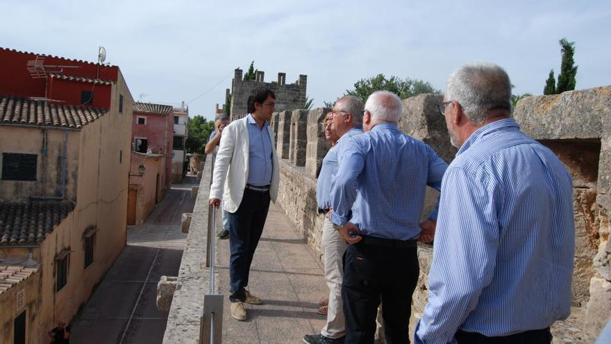 Alcúdia culmina la rehabilitación de la muralla renacentista y será visitable