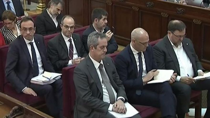 Sánchez, Turull, Rull y Forn, candidatos de JxCat al 10N
