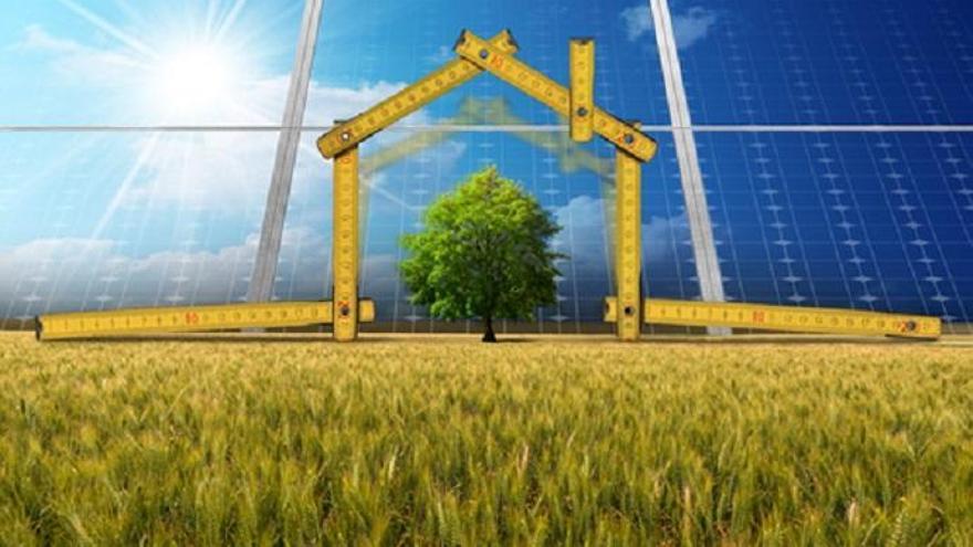 Construcciones ecológicas.