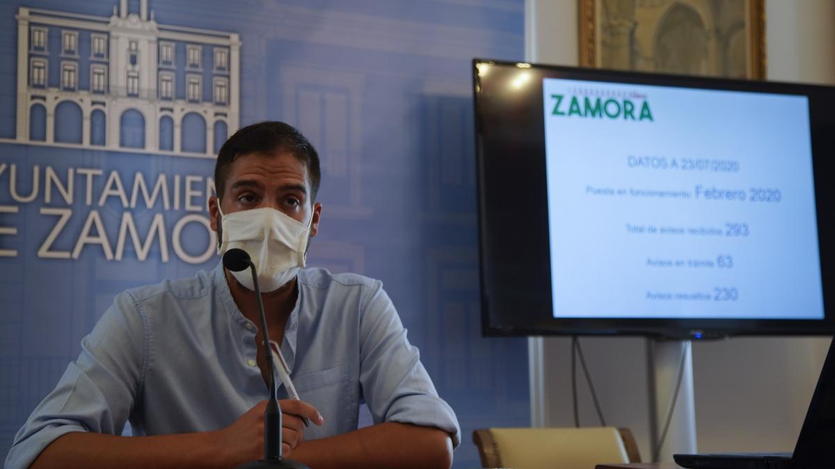 Pablo Novo, concejal de Barrios y Participación Ciudadana del Ayuntamiento de Zamora