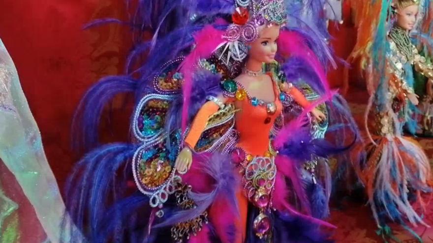 Exposición de carnaval  en Agaete