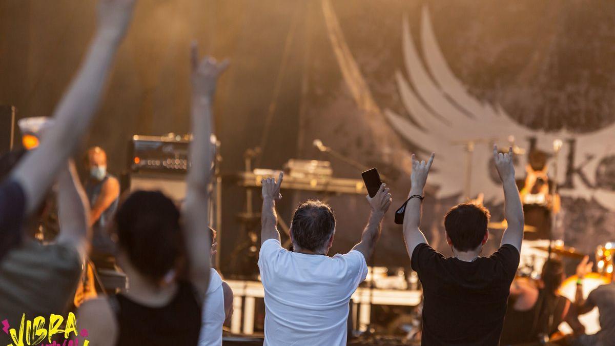 Imatge d'un dels moments de la segona edició del Vibra Festival