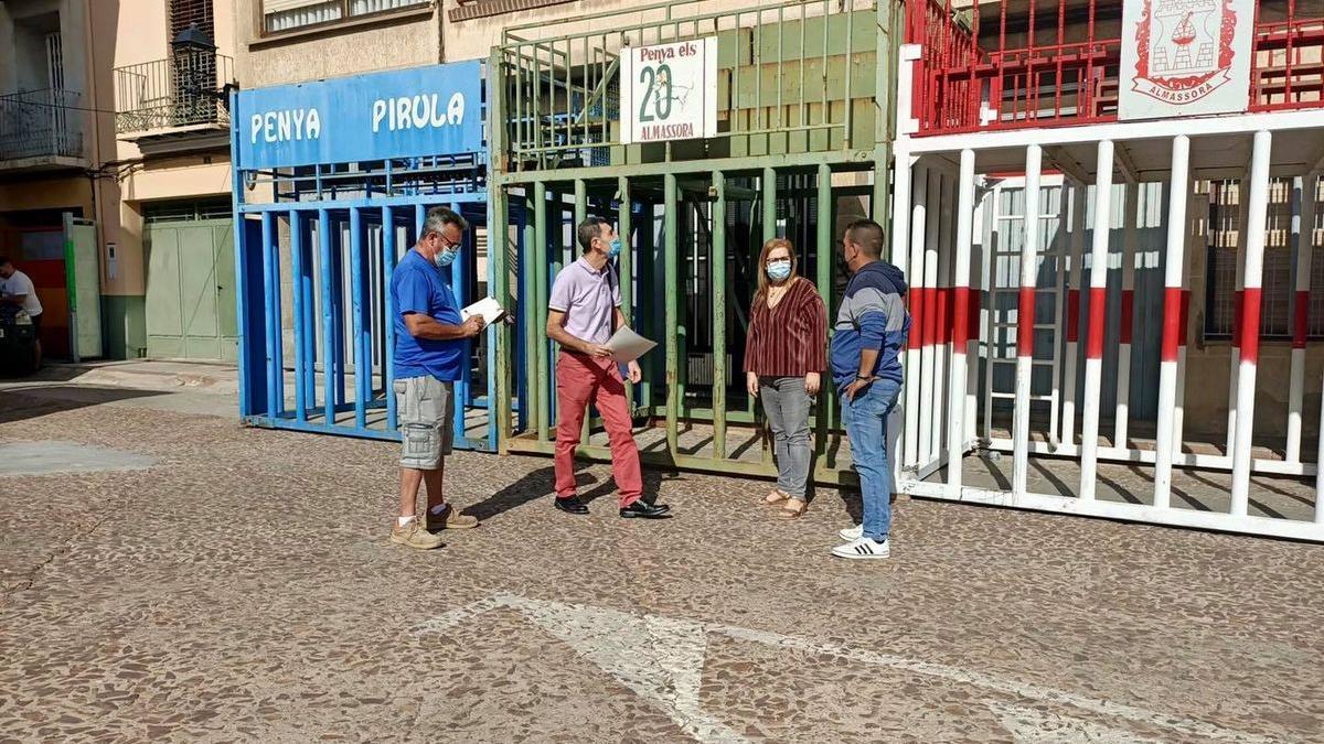 El Ayuntamiento de Almassora ya tiene todo listo para la celebración del esperado encierro.