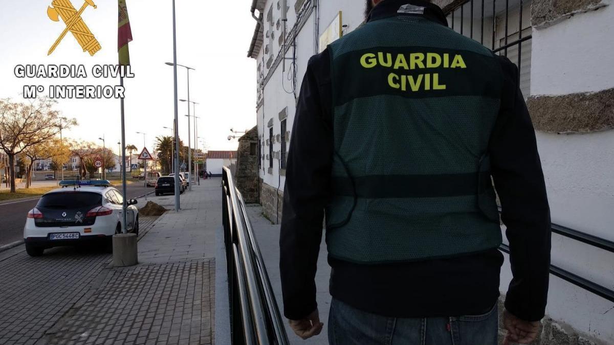 Detenido un vecino de Miajadas por simular el robo en una finca de su propiedad