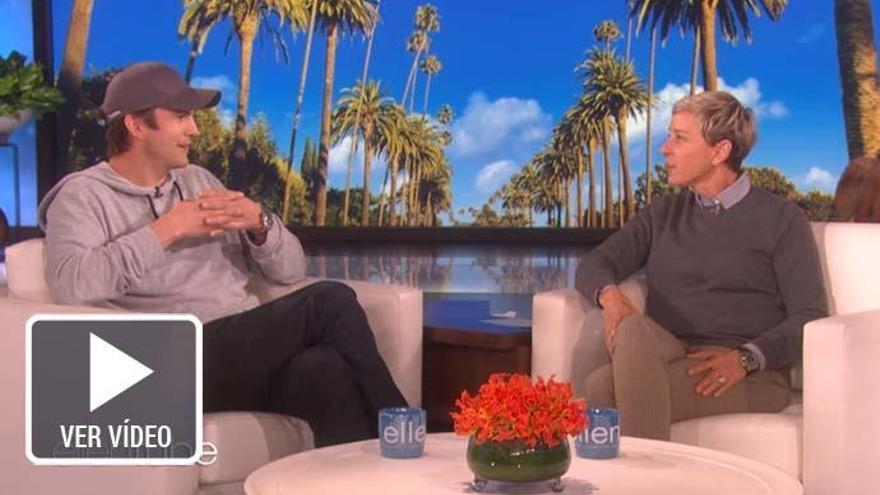 Ashton Kutcher deja en 'shock' a Ellen DeGeneres con una donación millonaria