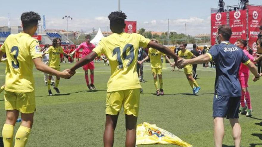 El Villarreal, campeón de LaLiga Promises